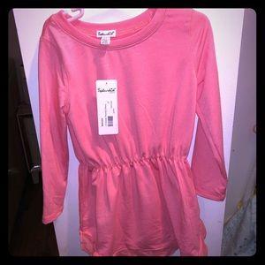 Splendid size 4-5 Long sleeve shirt In peachy pink